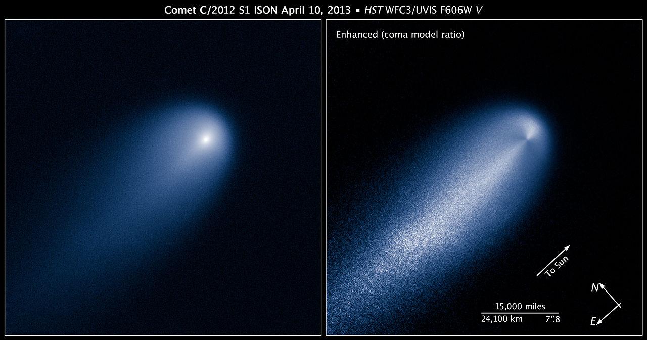 Coment C/2012 S1 ISON April 10, 2013