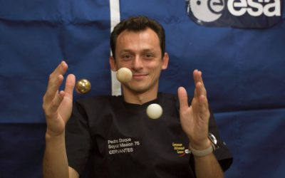Interview with an astronaut – Pedro Duque