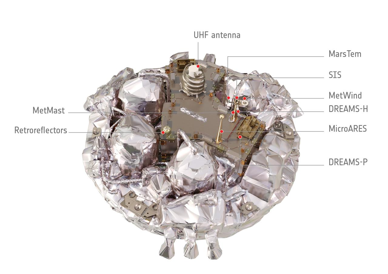 Under the hood, the Schiaparelli lander interior (Credit: ESA/ATG medialab)