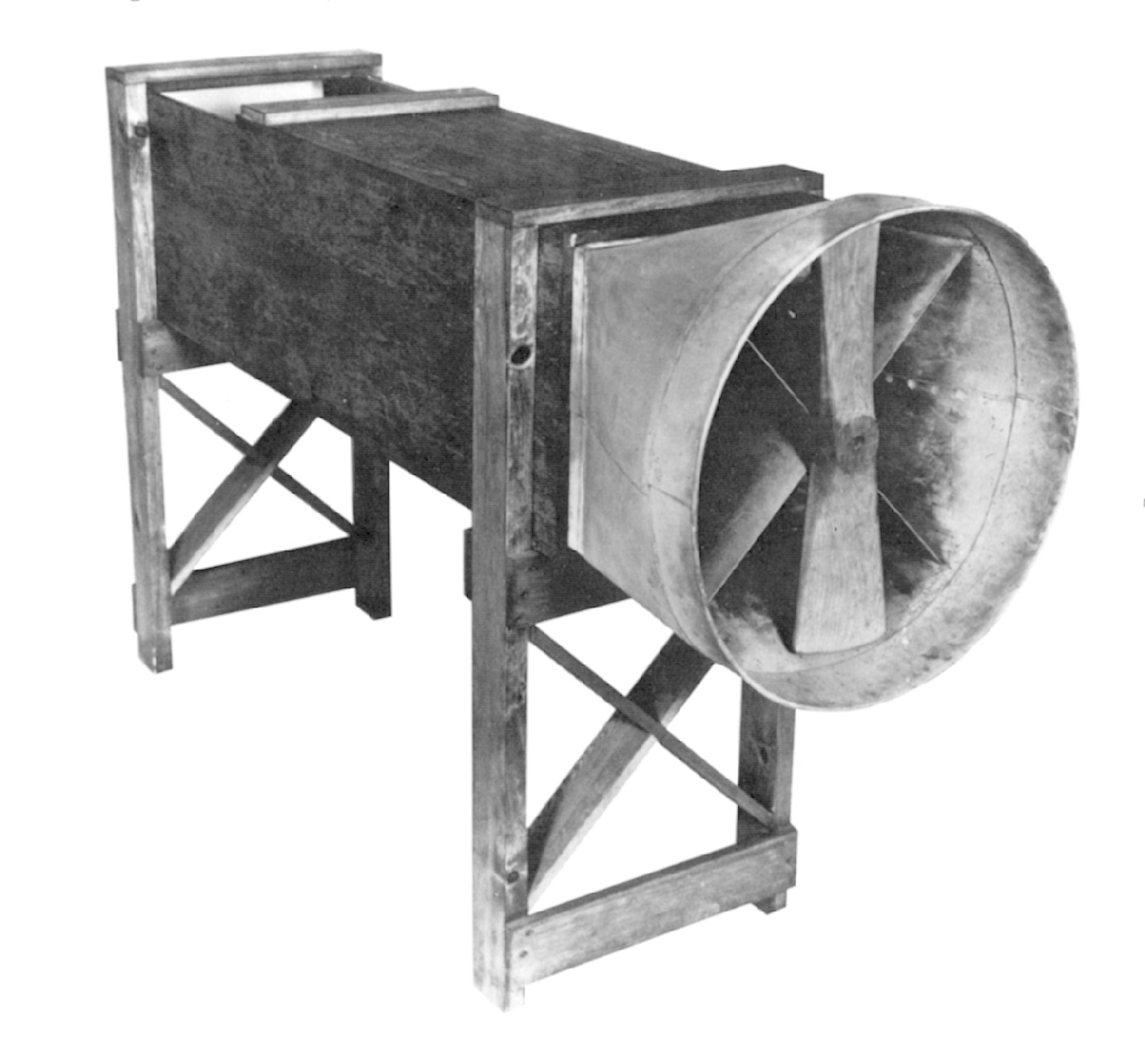 Wind tunnel used by the Wright brothers in 1901. Source: wright-brothers.org