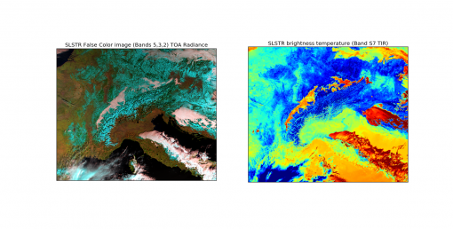 Sentinel Space Imagery – a Python processed image from