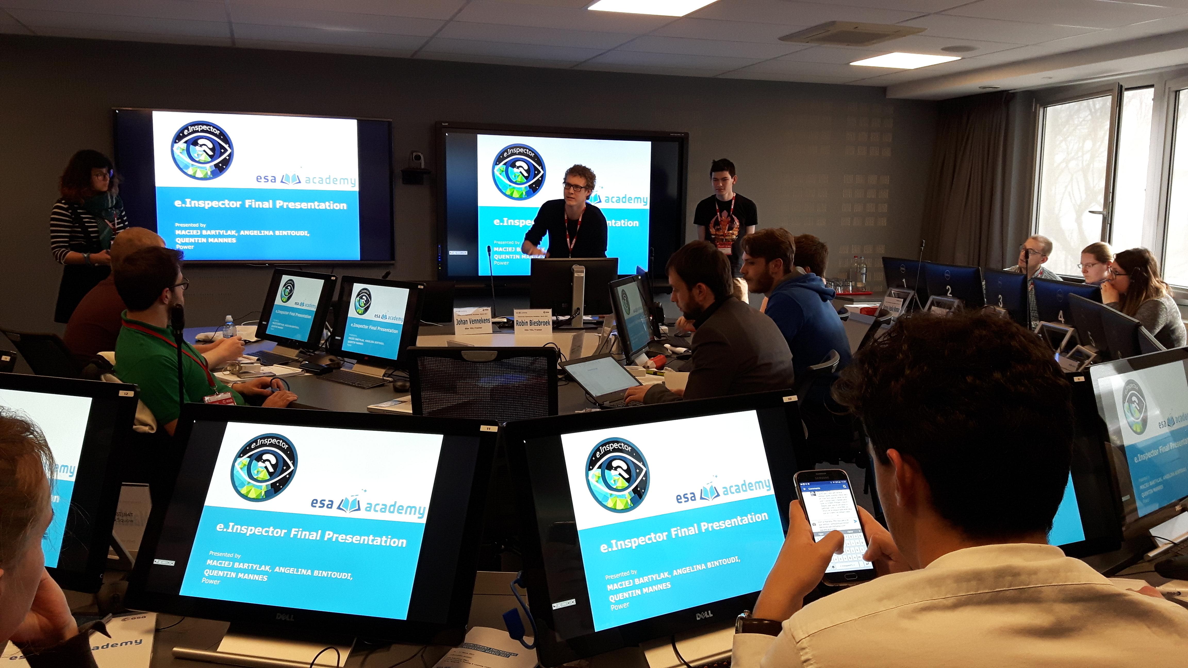 Presentation EPS - Credit: ESA Academy